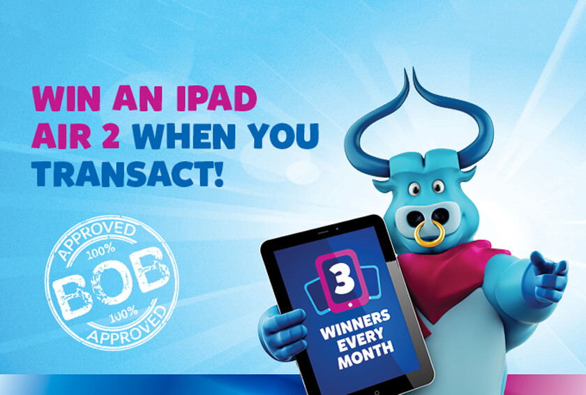 Win an iPad Air 2 at BFC Exchange