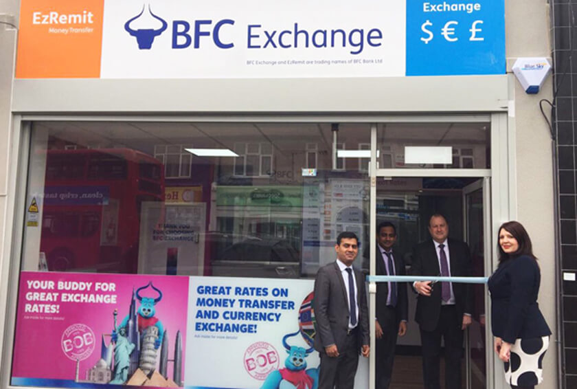 BFC Exchange Opens New Branch in Barkingside
