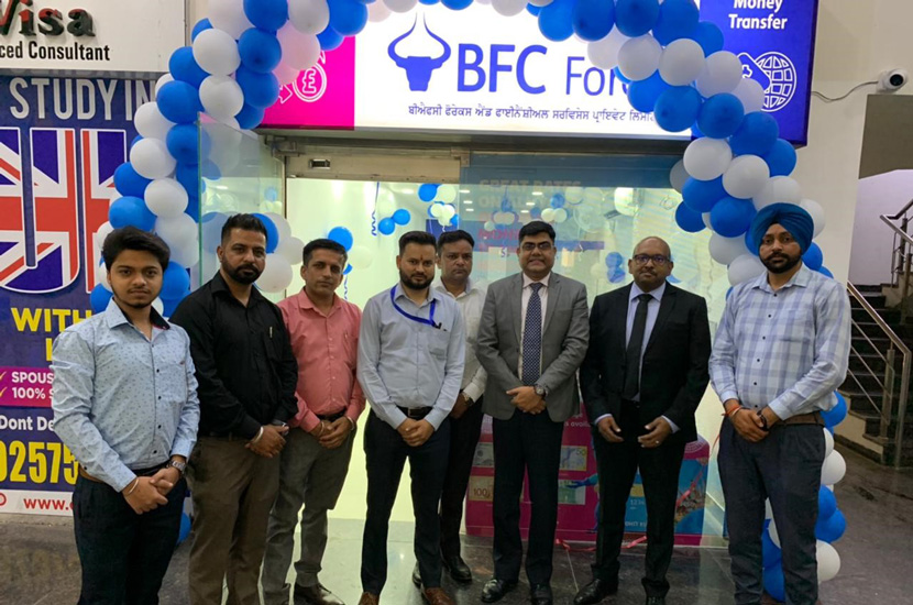 BFC Forex inaugurates new branch in Jalandhar